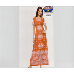 Ladies Cotton Gowns At Rs 180 Pieces Cotton Nightgown Id