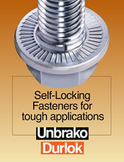 Durlok Vibration Resistant Nuts & Bolts
