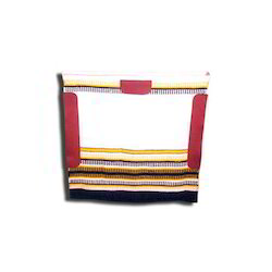 Saddle Blanket With Nu-buck Patch
