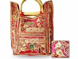 Adorable Vintage Sari Handbag