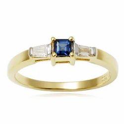 Gold Sapphire Jewelery