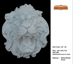 Lion Marble Stone Animal Figure