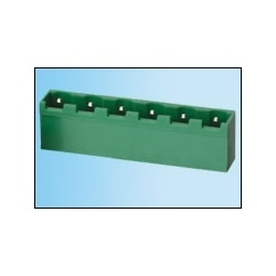 Plug In Terminal Block XY 2500 R-Q 7.62 MM Male Rt Angle
