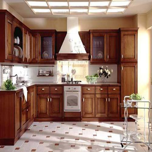 Aluminium Modular Kitchen At Rs 1100 Square Feet: PVC Kitchen Cabinet At Rs 500 /square Feet(s)