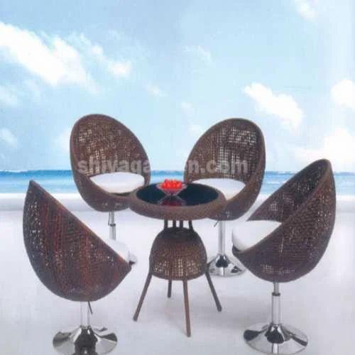 dfc7de4d717d Shiva Garden Shop Black/white/brown Garden Chair Set, Rs 20000 ...
