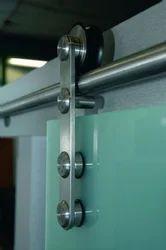 Frameless Sliding Door System