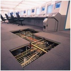 Nice Office False Flooring
