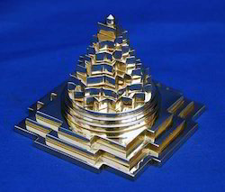 Brass Made Folding 3D Meru Shree Yantra