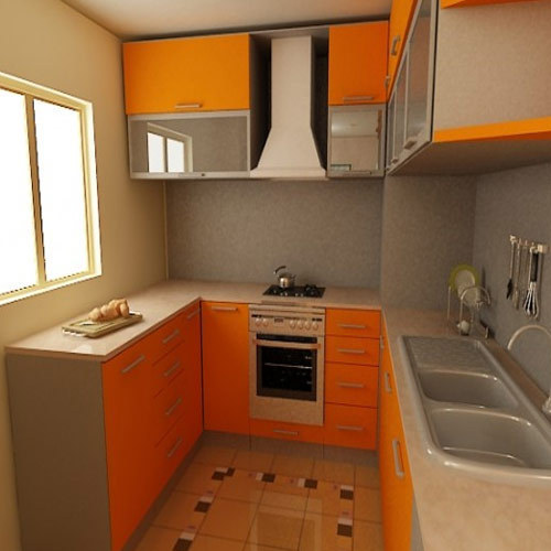 Modular Kitchen Small Drawer