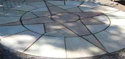 Garden Sandstone Circle