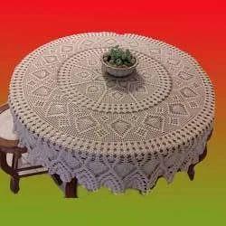 Crochet Designer Table Covers, Tablecloths, Table Linen & Placemats