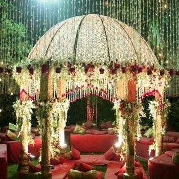 Wedding Decoration Flower Decoration Tent Service