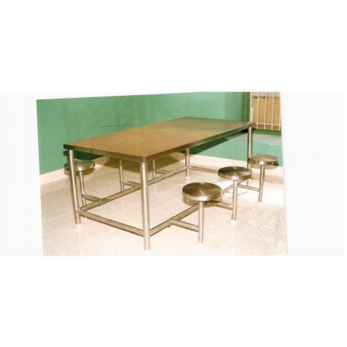 Brilliant Stainless Steel Dining Table With Stool Machost Co Dining Chair Design Ideas Machostcouk