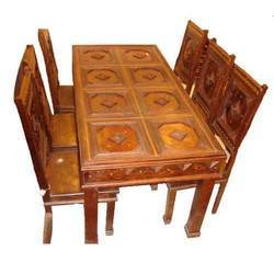 Wooden Dining Table In Ludhiana ���ुडन ���ाइनिंग ���ेबल