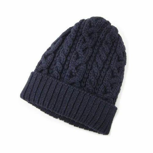 Winter Cuff Cap at Rs 120  piece  db307504192