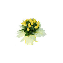 Yellow Roses Hand Bunch Bouquet