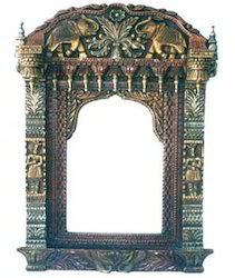 Antique Wooden Jharokha