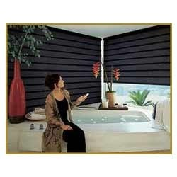 Electronic Security Systems Motorized Blinds And