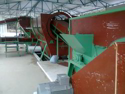 Coir Fiber Extraction Plant