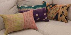 Old Style Kantha Quilt Pillow Covers