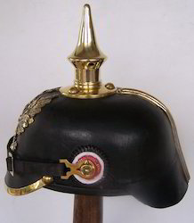 German WW2 Leather Pickelhaube