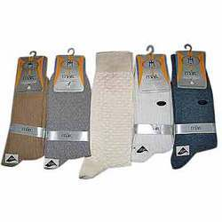 Cotton Spandex Socks