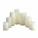Plain White Candles