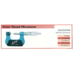 Screw Thread Micrometer  (Range 25-50mm)