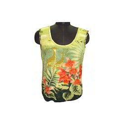 Sleeve-Less T-shirt