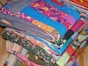 Sari Patchwork Quilt