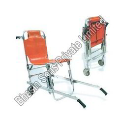 Folding Wheel Chair Cum Stretcher