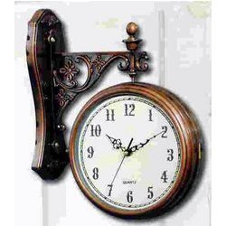 Two Sided Wall Clocks at Rs 1800 piece Decorative Clock ID