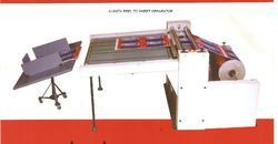 Laminated Reel to Sheet Separator Machines