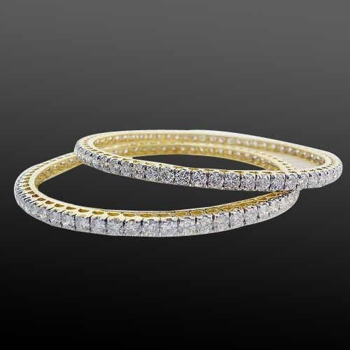 American Diamond Bangles G P Jewellers
