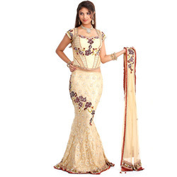 48a69d8d42b7fc Fish Cut Lehenga at Best Price in India