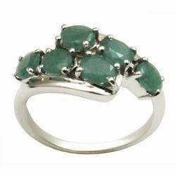 Emerald Silver Jewelry