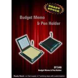 Budget Memo & Pen Holder