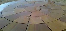 Garden Paving Stone Circle