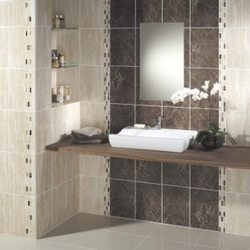 Ideal For Decoration Our Comprehensive Range Of Bathroom Tiles Is Appreciated By Clients Its Elegant Designing Famous Superior Finishing