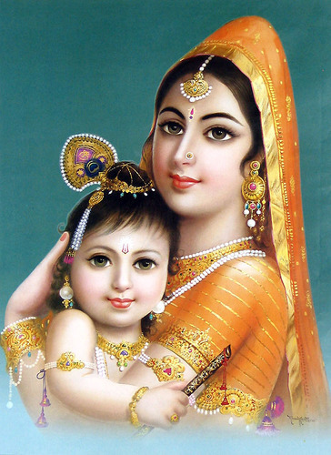 Lord Krishna Paintings - yashoda_krishna-potos Manufacturer from Nagda