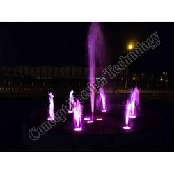 Foam Fountains with Centre Jet Nozzle