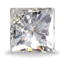 Princess Cut Moissanite Diamond