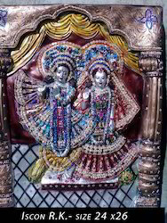 Wall Panel Radha Krishna