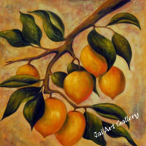 Fruit Canvas Abstract Contemporary Paintings Smart Kids