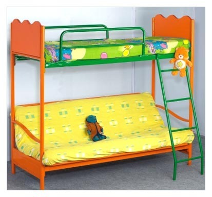 Kids Sofa Cum Bunk Bed