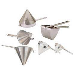 Conical Strainer & Coarse Bowl
