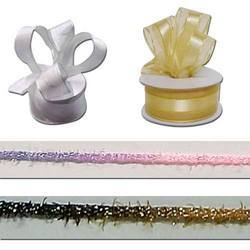Metallic Fancy Satin Ribbon