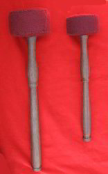 Mallets for Gong and Singing Bowl