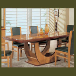 Curved Type Dining Table