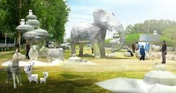Themes Park Landscaping